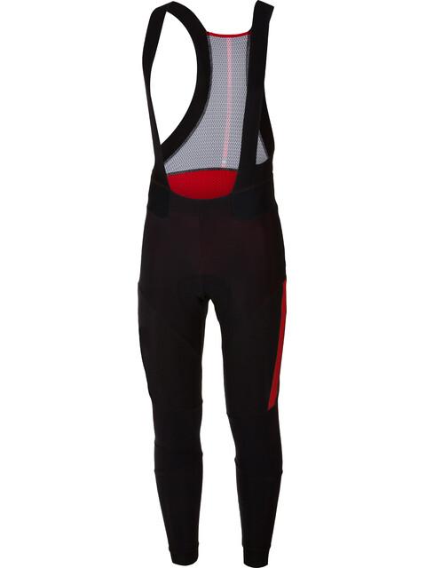 Castelli Sorpasso 2 Miehet Bib-pyöräilyhousut , punainen/musta